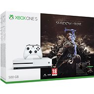 Xbox One S 500GB Middle-Earth: Shadow of War - Herná konzola