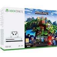 Xbox One S 500 GB Minecraft + Minecraft Story Mode 2 + 3 mesačný LIVE GOLD - Herná konzola