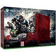 Microsoft Xbox One S 2TB Gears of War Limited Edition - Herná konzola