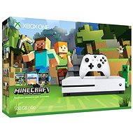 Xbox One S 500 GB Minecraft Edition - Herná konzola