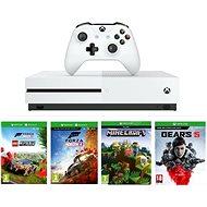 Xbox One S 1TB + Lego Forza Horizon 4 + Gears 5 + Minecraft - Herná konzola