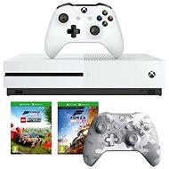 Xbox One S 1TB + Lego Forza Horizon 4 + 2× ovládač - Herná konzola