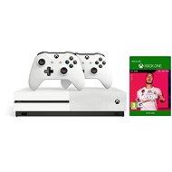 Xbox One S 1TB + FIFA 20 + 2× Ovládač - Herná konzola