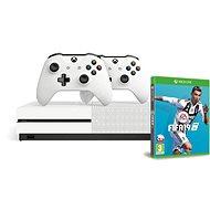 Xbox One S 1 TB + extra Wireless Controller + FIFA 19 - Herná konzola