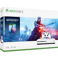 Xbox One S 1TB + Battlefield V - Herná konzola