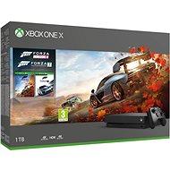 Xbox One X + Forza Horizon 4 + Forza Motorsport 7 - Herná konzola