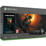 Xbox One X + Shadow of The Tomb Raider - Herná konzola
