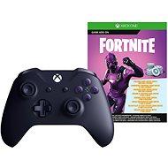 Xbox One Wireless Controller Purple + Fortnite DLC - Gamepad