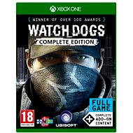 Watch Dogs Complete Edition – Xbox One - Hra na konzolu