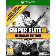 Sniper Elite 3 Ultimate Edition – Xbox One - Hra na konzolu