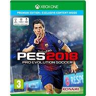 Pro Evolution Soccer 2018 Premium Edition – Xbox One - Hra pre konzolu