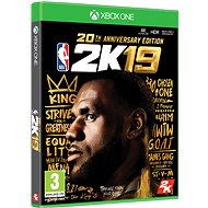 NBA 2K19 – 20th Anniversary Edition – Xbox One