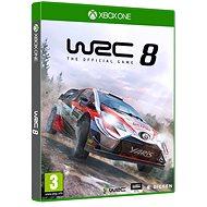 WRC 8 The Official Game – Xbox One - Hra na konzolu