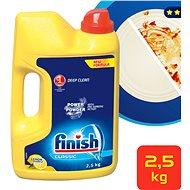 FINISH PowerPowder prášok Citrón 2,5 kg - Prášok do umývačky