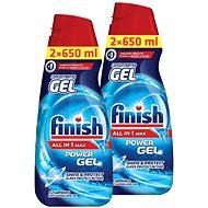 FINISH Gel All-in-1 Shine & Protect 2× 650 ml - Gél do umývačky riadu