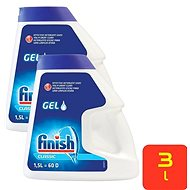 FINISH Gel Double Action 2× 1,5 l (120 dávok) - Gél do umývačky