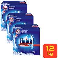 FINISH Soľ 3× 4 kg - Soľ do umývačky
