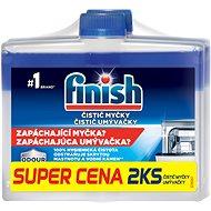 FINISH Čistič umývačky 250 ml DUO - Čistič umývačky riadu