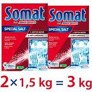 Soľ do umývačky SOMAT Sůl 2× 1,5 kg