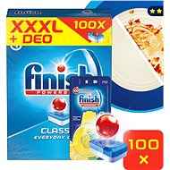 FINISH Classic Lemon 100 ks + DEO Lemon
