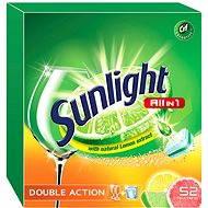 SUNLIGHT All in 1 Citrus  (52 ks) - Tablety do umývačky