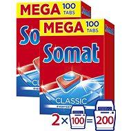 SOMAT Classic MEGA 2 × 100 pcs - Dishwasher Tablets