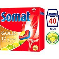 SOMAT Gold Lemon & Lime 40 ks - Tablety do umývačky