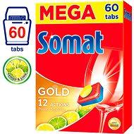 SOMAT Gold Lemon & Lime 60 ks - Tablety do umývačky