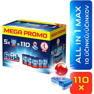 FINISH All in 1 Max 110 ks MEGABOX - Tablety do umývačky