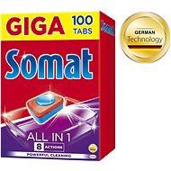 SOMAT All in One tablety 100 ks - Tablety do umývačky