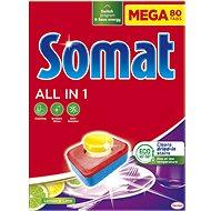 SOMAT All in 1 Lemon & Lime 80 ks - Tablety do umývačky