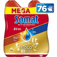 SOMAT Gold Neutra Fresh 2× 684 ml - Gél do umývačky