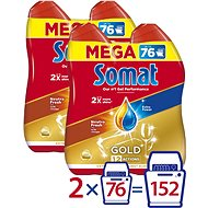SOMAT Gold Neutra Fresh 4× 684 ml - Gél do umývačky