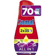 Somat All in One Lemon 2× 630 ml (70 dávok) - Gél do umývačky riadu