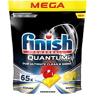 FINISH Quantum Ultimate Lemon Sparkle 65 ks - Tablety do umývačky