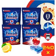 FINISH All-in-1 Max Lemon 240 ks
