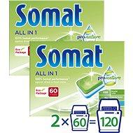 SOMAT All in One Pro Nature 2× 60 ks - Ekologické tablety do umývačky