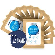 AlzaEco Čistič umývačiek riadu 12× 100 g - Eko prášok do umývačky