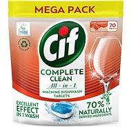 CIF All in 1 Regular 70 % Naturally 70 ks - Ekologické tablety do umývačky
