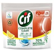CIF All in 1 Lemon 70 % Naturally 26 ks - Ekologické tablety do umývačky