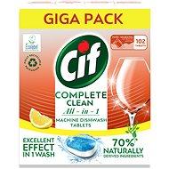 CIF All in 1 Lemon 70 % Naturally 102 ks - Ekologické tablety do umývačky