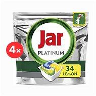 JAR Platinum Lemon 4 × 34 pcs - Dishwasher Tablets