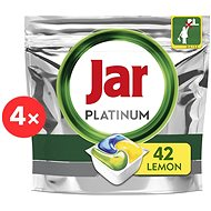 JAR Platinum Lemon 4 × 42 pcs - Dishwasher Tablets