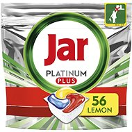 JAR Platinum Plus Lemon 56 ks - Tablety do umývačky