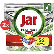 JAR Platinum Plus Lemon 112 pcs - Dishwasher Tablets