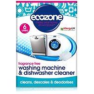 Čistič umývačky riadu ECOZONE čistič myček a praček 6 ks