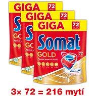 SOMAT Gold 216 pcs - Dishwasher Tablets