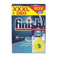 FINISH Classic 90 ks + Osviežovač do umývačky Lemon & Lime
