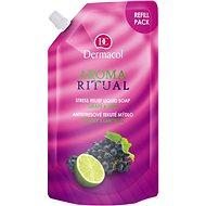 DERMACOL Aroma Ritual Refill Liquid Soap Grape & Lime 500 ml - Tekuté mydlo