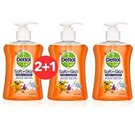 DETTOL Kids Tekuté mydlo Ovocné bubliny 250 ml 2 + 1 - Detské mydlo